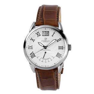 Christina Watches herreur med 12 diamanter,  510SSBR